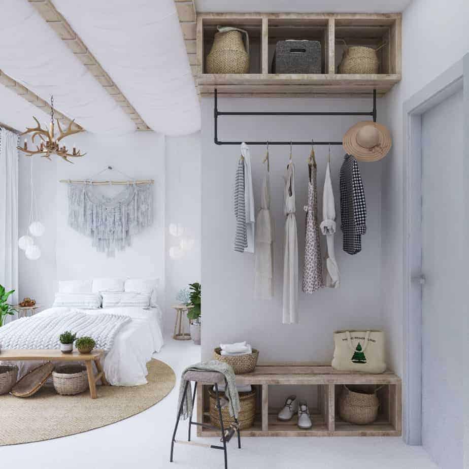 phòng ngủ theo phong cách tropical