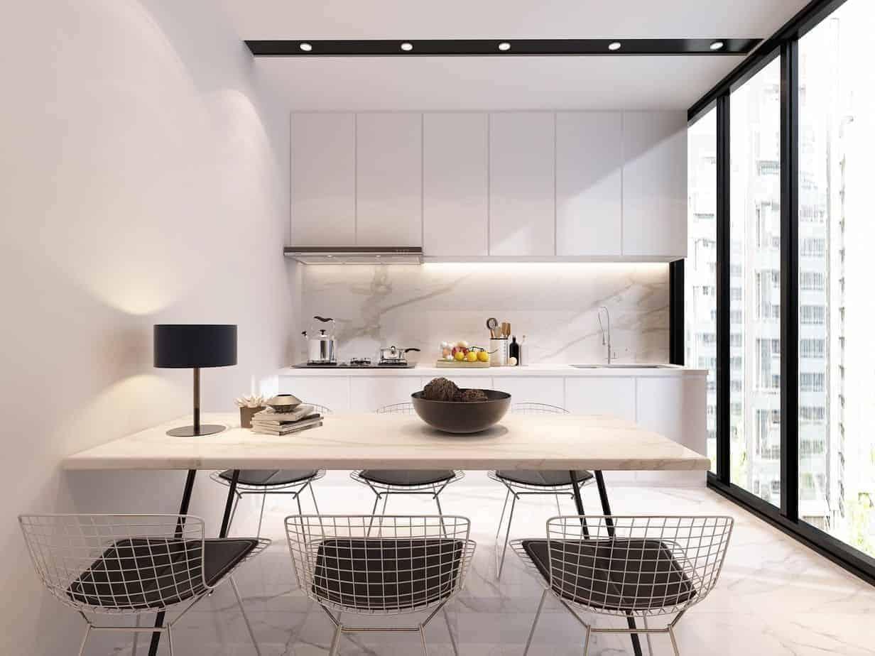 bếp chung cư