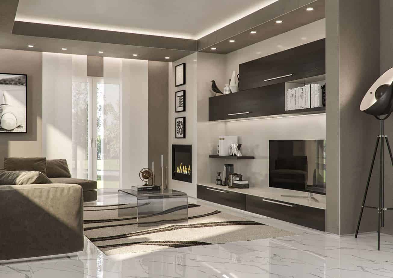 phòng khách chung cư