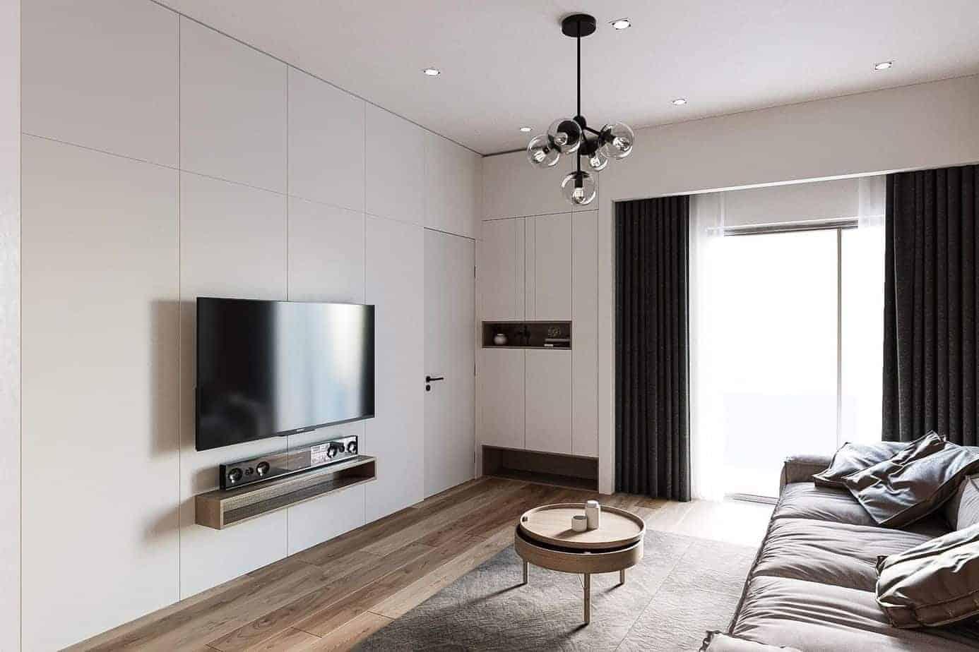 phòng khách kết hợp